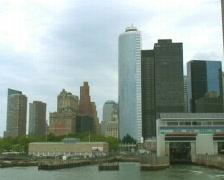 Manhattan Financial District Stock Footage