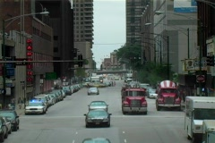 Chicago St. (time-lapse) Stock Footage