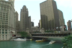 Michigan Bridge  Stock Footage
