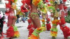Colorful Brazilian Carnival Stock Footage