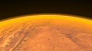 Stock Video Footage of Mars low altitude-fly-over- 720p-