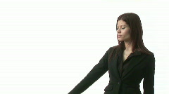 A succesful and confident Business woman Stock Footage