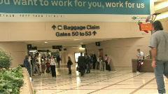 Atlanta Airport passengers HD Stock Footage