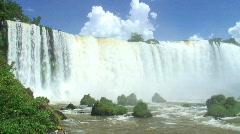 HD: Impressive Iguazu falls Stock Footage