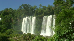 HD: Waterfalls and tropical forest - stock footage