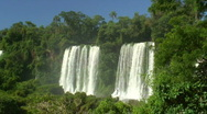 Stock Video Footage of HD: Waterfalls and tropical forest