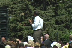 Barack Obama (Unity) Stock Footage