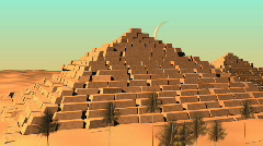 Egypt pyramids Stock Footage
