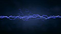 Lightning Background Stock Footage