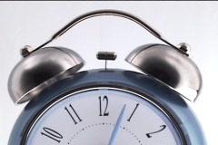 Alarm Clock Turn Off Stock Footage