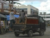 Stock Video Footage of Street scene in Langsa, Aceh