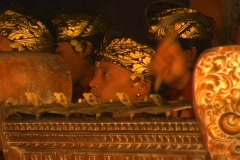 Traditional Balinese Gamelon Stock Footage