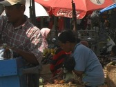Traditional Balinese Market Stock Footage