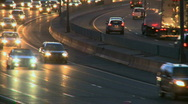 Highway travel at night (3 of 15) Stock Footage