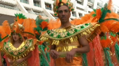 Brazilian Carnival Stock Footage