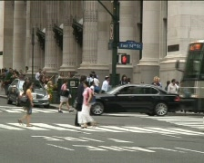 Manhattan Traffic Stock Footage