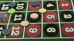 Roulette - Winning Number 8 Stock Footage