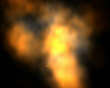 Quick Deformed Blast Stock Footage