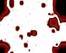 Merging Plasma Red - stock footage