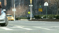 Taxi Traffic (1 of 2) - stock footage