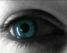 Blue Eye Stock Footage