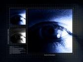 Eye Control Panel Stock Footage