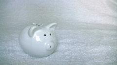 Piggy Bank 2 Stock Footage