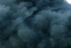 Smoke Cloud Detail Stock Footage