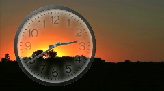 Daylight Saving Time Begins Stock Footage