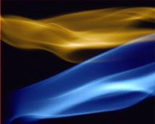Aura Blue Smokes - stock footage