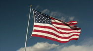 HDV: American Flag Stock Footage