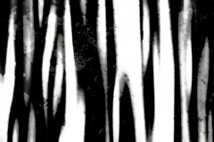 Black & White streaks - digital animation Stock Footage