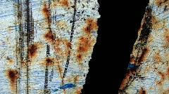 Rust Spots & Black Stock Footage