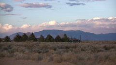 HDV: Timelapse New Mexico Scenic Stock Footage
