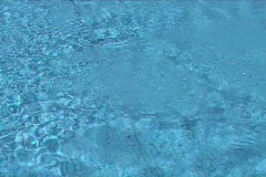 Blue water in movement Stock Footage