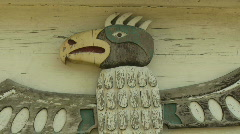 Native American icon Stock Footage