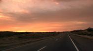 On the road - Interstate-40, Arizona Stock Footage