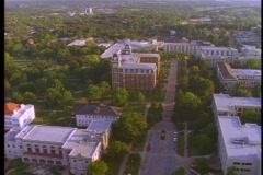 University of Arkansas Aerial Stock Footage