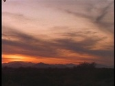 Desert Sunset 2 Stock Footage