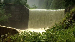 Waterfall in the alps Stock Footage