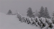 Stock Video Footage of Snowfall in the alps
