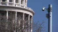 Stock Video Footage of capital security camera