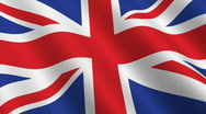 Stock Video Footage of Flag of the United Kingdom