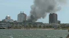 Atlantic City Fire Stock Footage