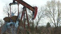 Oil rig 8 Stock Footage