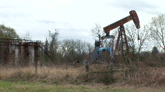Oil well 1 Stock Footage