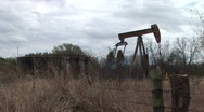 Stock Video Footage of oil well 3