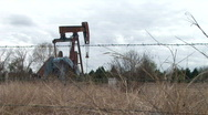 Stock Video Footage of oil well 4