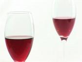 Stuido Shot of Red Wine Stock Footage
