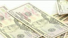 Conepct of Making Money Stock Footage